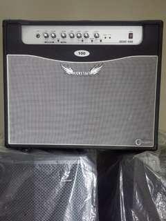 Carlsbro Kickstart 100 Watt Solid State Guitar Amplifier (Pleaae read below for details)