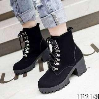 Suede Boots (F1) Sizes 35-40