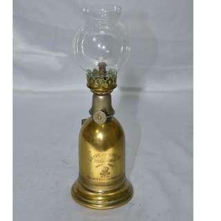 ANTIQUE VINTAGE FRENCH DE SURETE OIL LAMP