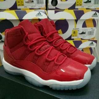 🔥UK13C🔥 Nike Retro PS Air Jordan XI 11 Red