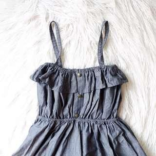 ‼️REPRICED‼️ Sofie Black Denim Dress
