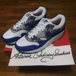 6ce9c94e552 Nike Air Max 1 x Atmos  We Love Nike  US 8   UK 7