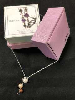 Orchira Pearl Necklace 三色珍珠頸鍊