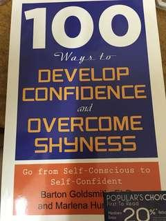 100 ways to develop confidence and shyness