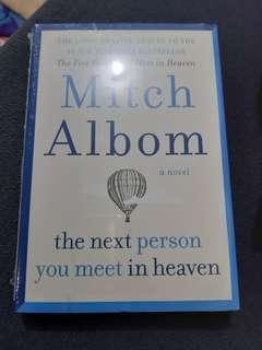 Mitch Albom's The Next Person You Meet in Heaven new book
