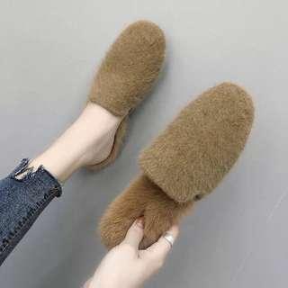 🚚 穆勒毛毛鞋