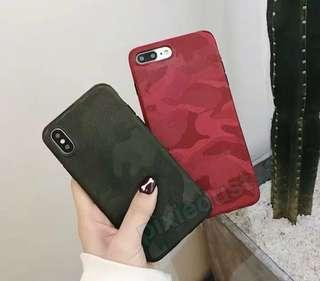 camouflage print phone casing