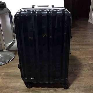 Blue Hand-carry luggage