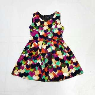 ☇LP☇ Colorful Hearts Dress