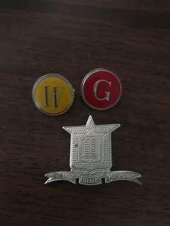 Girls grammar pins