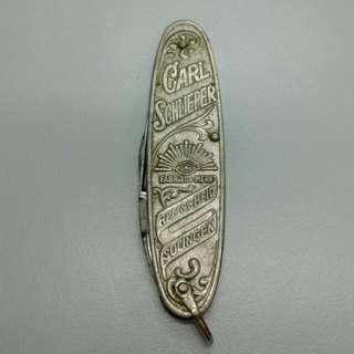 Germany Solingen Carl Schlieper Foldable Penknife Vintage