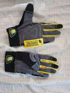 Firm grip multipurpose gloves touch sensitive