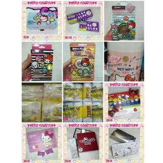 Hello Kitty Assorted Items