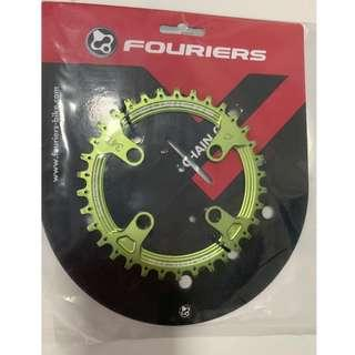 💯🆕Fouriers Single Speed Chain Ring With N/W Tooth (for SRAM XX1 Crank Only)