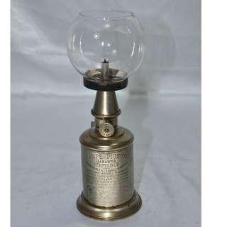 ANTIQUE - VINTAGE FRENCH PIGEON OIL LAMP