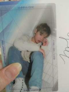 Wanna One Jihoon nothing without you photocard