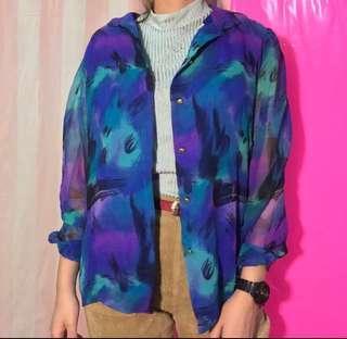 Vintage blue blouse
