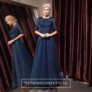 Long Sleeves Evening Gown