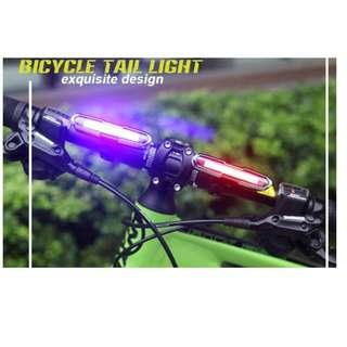 💯🆕Goofy light for bicycle/scooter night riding use (White with red color )