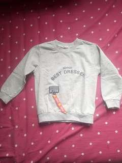 Sweater anak 2-4th