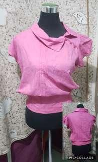 Office Pink Top