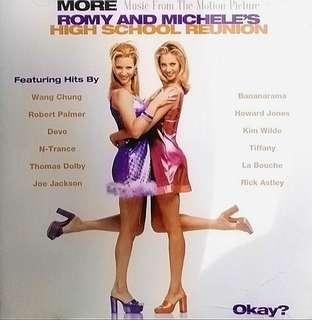 arthcd VARIOUS Romy And Michele's High School Reunion (More Music From The Motion Picture) CD