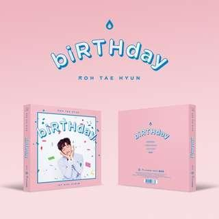 [PREORDER] 노태현 RohTaehyun - BIRTHDAY /MINI ALBUM