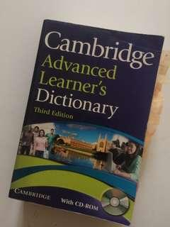 Cambridge Advanced Learner's Dictionary - Third Edition