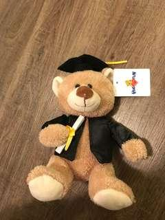 Graduation teddy bear animal plush