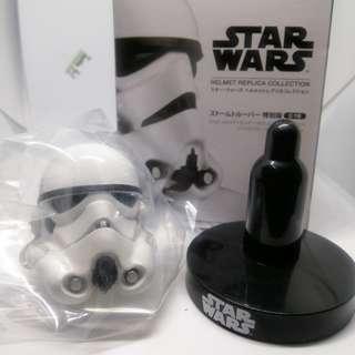 (genuine/ rare) Star Wars Stormtrooper 1/6 helmet figure (Bandai Japan)