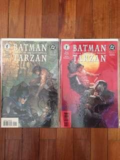 Dark Horse Batman Tarzan Claws of the Catwoman 1&2