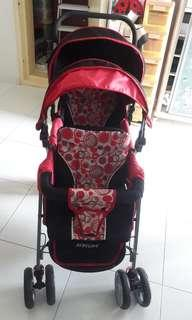 Double stroller & Free Edge Guard