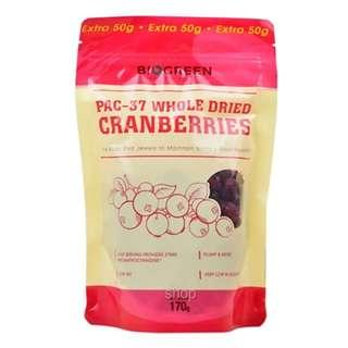 PAC-37 DRIED CRANBERRIES