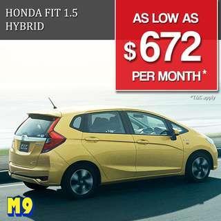 Honda Fit Hybrid 1.5 (A)
