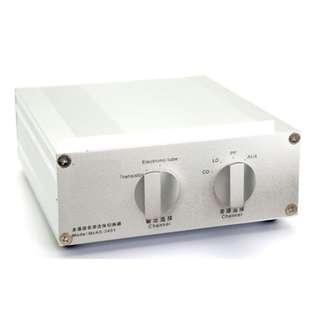 🚚 Audiophile Passive Manual 4 IN - 2 OUT  or 2IN - 4 OUT Port Audio Source Selector ALUMINIUM