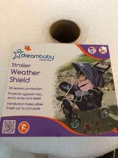 BN dreambaby stroller / pram weather shield