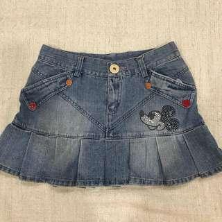Mickey Mouse Jeans skirt  #BlackFriday100