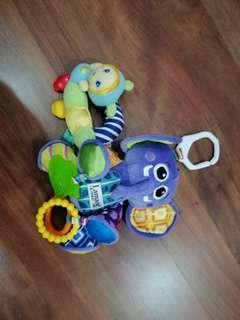 Lamaze & playskool baby toys