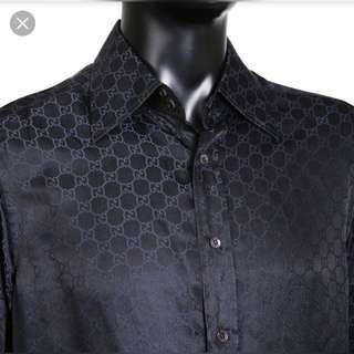 AUTHENTIC GUCCI BUTTON UP SHIRT