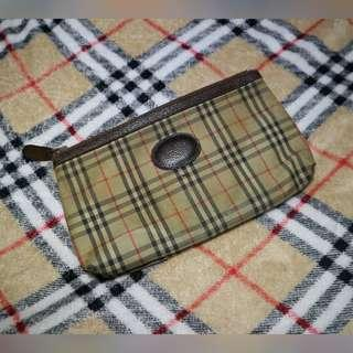AUTH BURBERRY POUCH