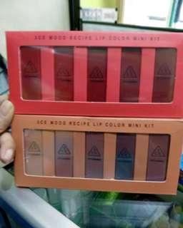 3CE lipstick matte minikit
