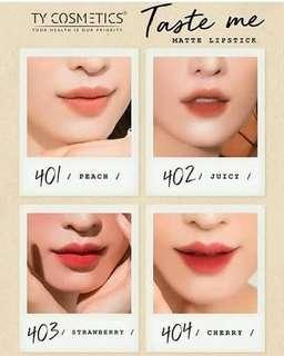 Lipstick emut TASTE ME by TY Cosmetik