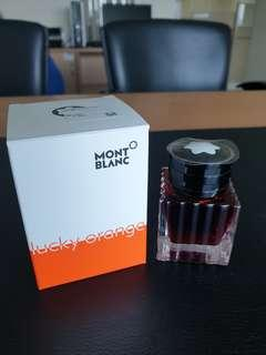 Montblanc Lucky Orange ink (limited edition)