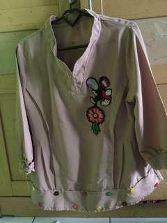 Baju atasan cewe / blouse cewe / baju bunga
