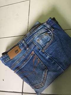 Jsk celana jeans biru light blue