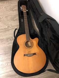🚚 Maestro 2006 EJ 1 Solid Top Acoustic Guitar with B Band pickup