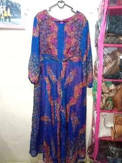Long dress navy