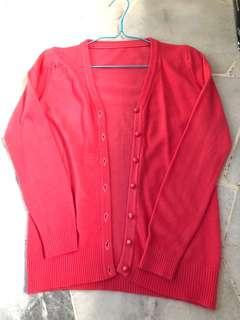 Watermelon red Cardigan