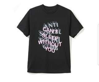 Anti Social Social Club ASSC Can't Sleep Without You Tee