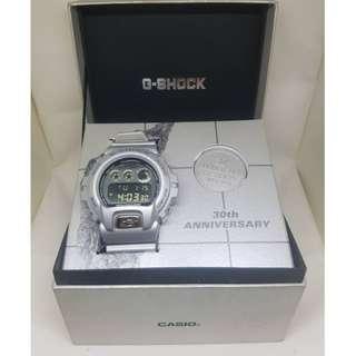 Casio G-Shock DW6930BS 30th Anniversary & Basel Silver Medallion Edition Watch